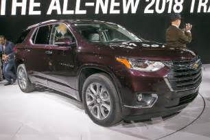 2018 chevrolet traverse look going for a truckier