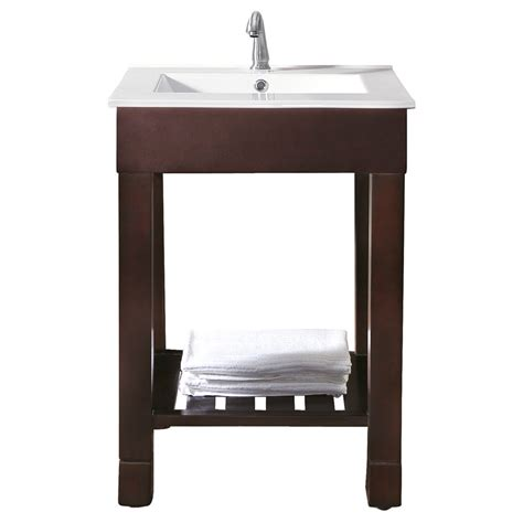 dark walnut bathroom cabinet avanity loft 24 quot single modern bathroom vanity set dark