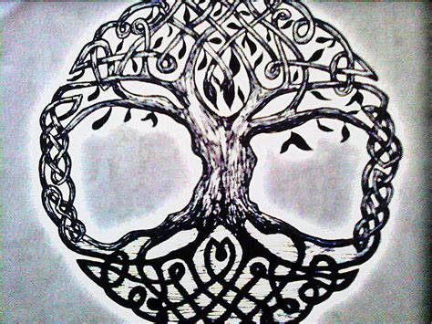 celtic tree of life quotes quotesgram