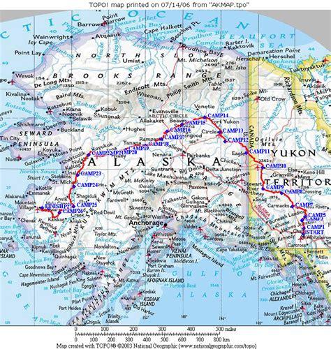 yukon river map yukon river map