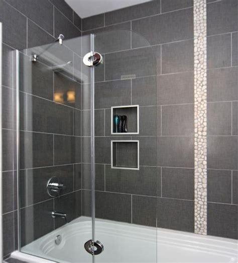 12 x 24 tile on bathtub shower surround   House ideas