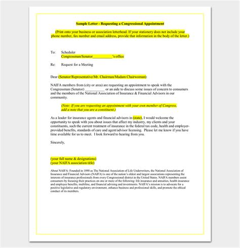Official Letter Asking For An Appointment Sle Appointment Request Letter 14 Exles In Word Pdf