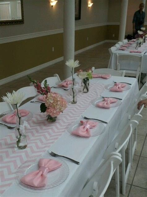 baby shower table setting 25 best ideas about bow tie napkins on pinterest bow