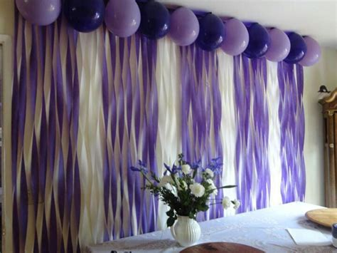 Decorating With Streamers And Balloons » Home Design 2017