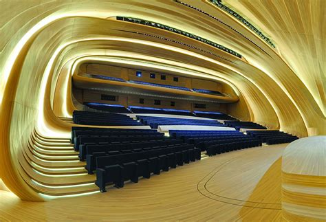 auditorium libreria auditorium dell heydar aliyev center progettato da zaha