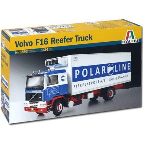 volvo lorry models italeri volvo f 16 reefer truck 3893 1 24 truck model