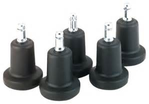 Chromcraft Bell Shape Stationary Glide To Replace Casters