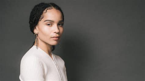 actress zoe kravitz zoe kravitz s diy plan to change things up in hollywood