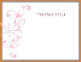 Thank You Letter Words Thank You Template Mybissim