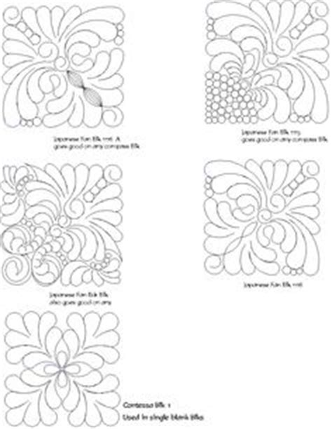 Computerized Quilting Patterns by Computerized Quilting Patterns For A Chain