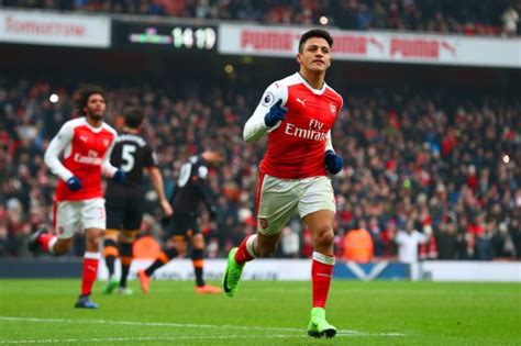 alexis sanchez goals 2017 18 arsenal transfer news alexis sanchez bids of 163 43m to be