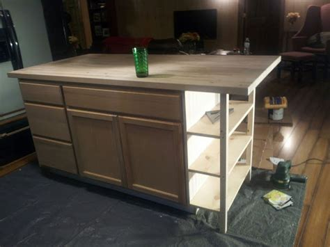 making your own kitchen island build kitchen island go and have fun and make a project