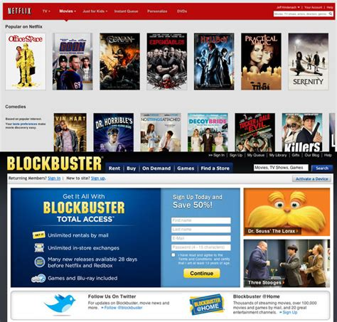 which is better or dvd netflix vs blockbuster which is better for dvd rentals
