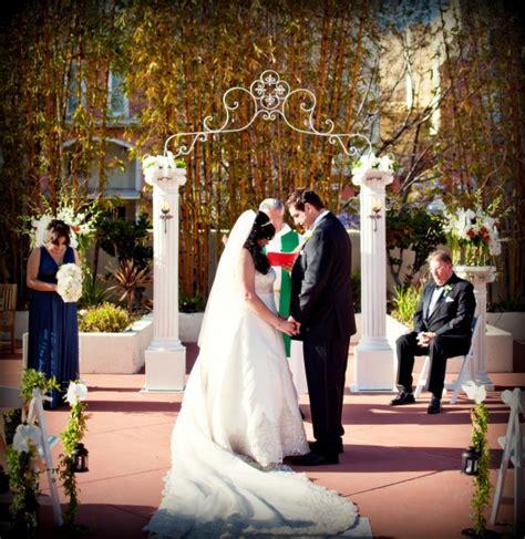 Wedding Arch Rentals Los Angeles by White Wedding Arch Altar Rentals Miami South Florida San