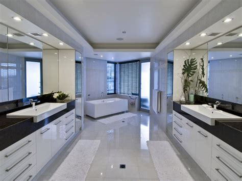 modern spa bathroom design ideas modern bathroom design with spa bath using frameless glass