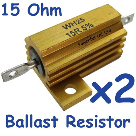 ballast resistor explained range rover l322 2010 rear light conversion indicator ballast resistor 15 ohm