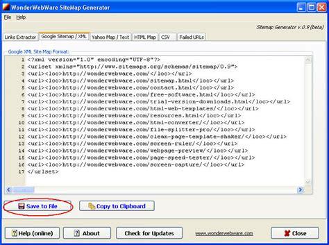 tutorial xml sitemap google sitemap xml exle