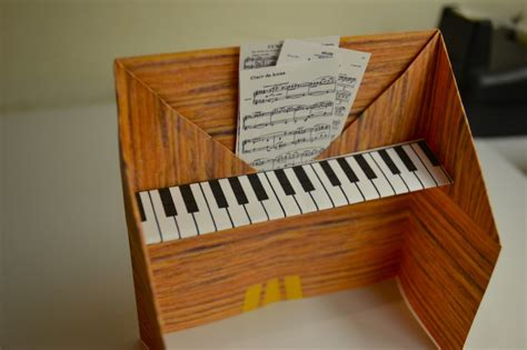 how to make origami piano piano origami activity