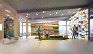 gradient matter shipyard sf welcome center interior design gradient matter