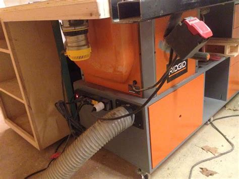 Table Saw Station Cabinet By Jonsajerk Lumberjocks Com