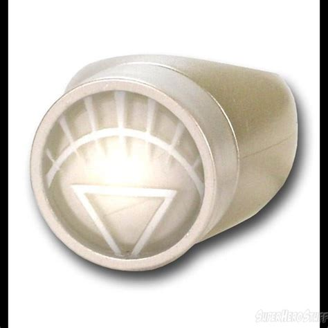 white lantern light up power ring