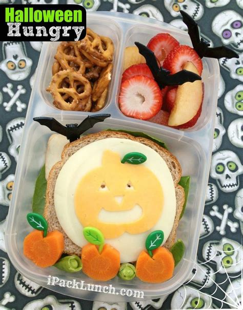 halloween themed lunch halloween themed healthy bento lunch with jack o lantern