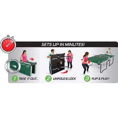 eastpoint sports fold n store table tennis table 12mm eastpoint sports 15mm fold n store table tennis table 1