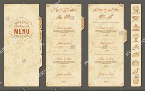 blank restaurant menu template 29 blank menu templates editable psd ai format