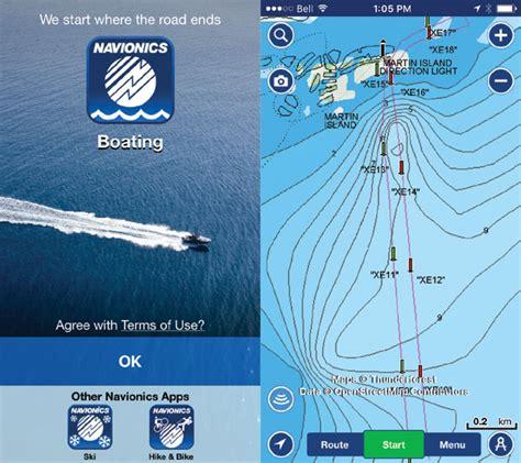navionics boating app navionics boating app review the scientific fisherman