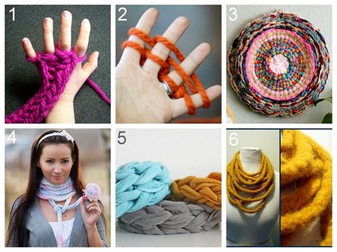 finger knitting ideas collection of cool and unique diy arts and crafts