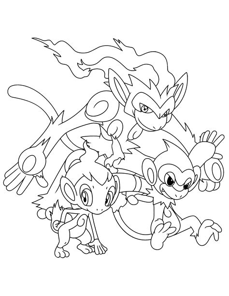 pokemon coloring pages infernape infernape coloring pages www bloomscenter com