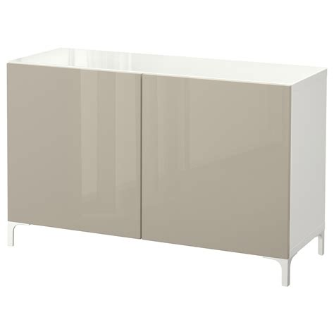 besta beige best 197 storage combination with doors white selsviken high