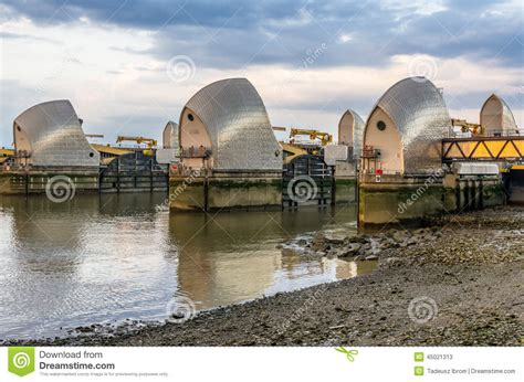 thames barrier animal clinic thames barrier editorial stock photo image 45021313