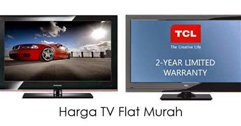 Monitor Lcd Tv Murah harga tv flat murah