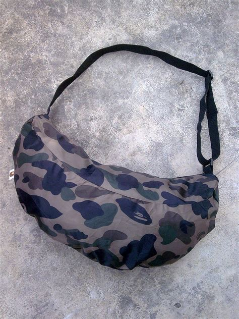 Bathing Ape Sling Bag Camo d0rayakeebag bathing ape camo banana sling bag sold