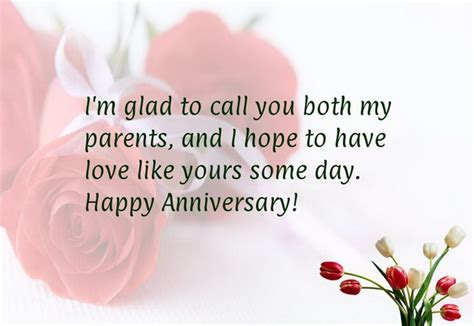 Wedding Wishes To Parents by Happy Anniversary Wishes Messages Sayingimages