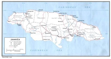 map world jamaica information for jamaica translation