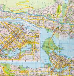 map of columbia canada with cities city map of vancouver columbia routemaster