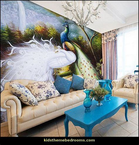 peacock themed bedroom 37 best images about themed rooms on pinterest best