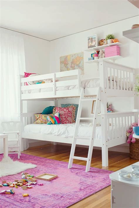 girls bedroom ideas bunk beds 25 best ideas about white bunk beds on pinterest bunk