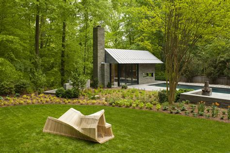 Backyard Usa by Garden Pavilion Pool House Idesignarch