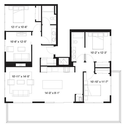 floor plan description zeus the elysian apartments