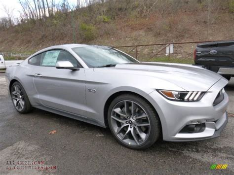 ford gt silver 2016 ford mustang gt premium coupe in ingot silver