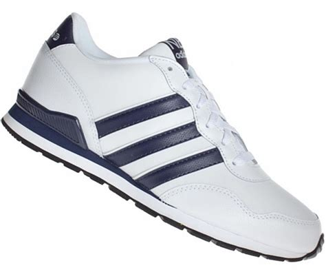 Adidas Neo V Leather White mens shoes adidas runneo v jogger neo mens leather shoes 700 750 white new