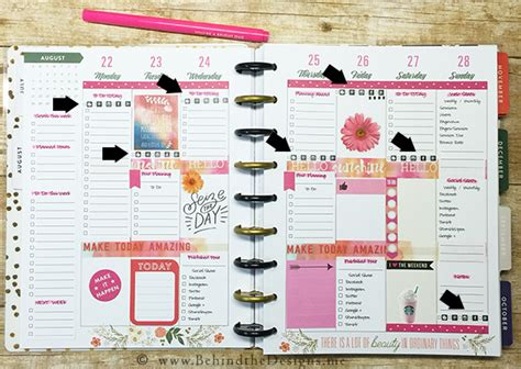 How To Use Your Happy Planner As A Blog Planner Happy Planner Template