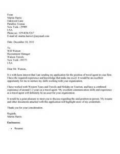 Travel Agent Cover Letter No Experience Sample   Cover