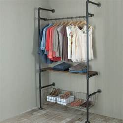 17 best ideas about industrial closet on pipe