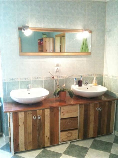 Diy Bathroom Furniture Charming Pallet Bathroom Furniture Pallet Furniture Diy