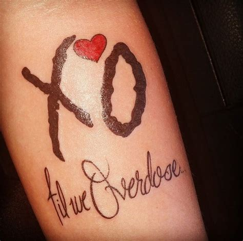 xo tattoo ideas best 25 xo ideas on x pair