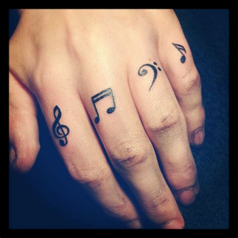 small music note tattoos inspiring design ideas for nationtrendz
